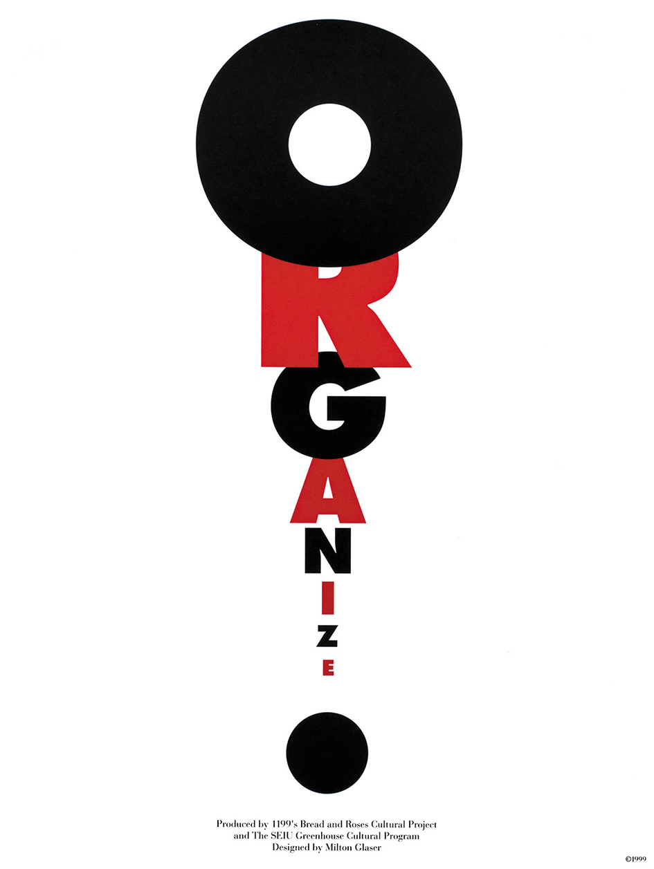 Milton-Glaser-Organize-Poster